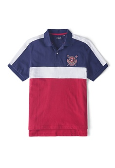 dd3d4662 CHAPS multi Short Sleeve Heritage Polo Shirt C8375AAB5D64D1GS_1