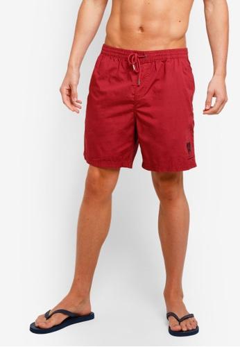 Cotton On 紅色 Kahuna Shorts 6B85CAA51461BAGS_1