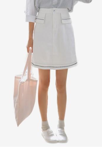 Ava 迷你鉛筆短裙,esprit香港分店 服飾, 裙子