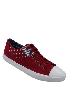 Low Cut High Quality Sneakers Men's Casual Shoes H81 (red)