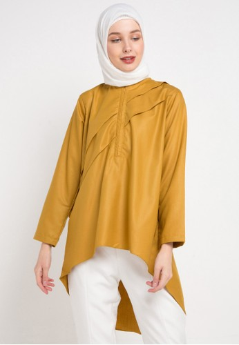 Radwah yellow Mika Top 75A1FAA721A739GS_1