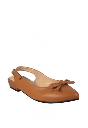 get online low cost usa cheap sale Shop Zanea Shoes Pointed Slingback Flats Online on ZALORA Philippines