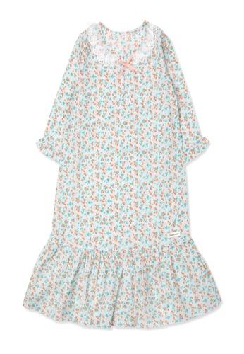Organic mom green Organic Cotton Audrey Cherry Nightgown 1B9B4KAE080A9BGS_1