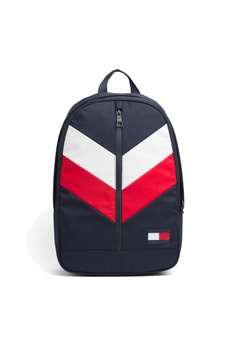 192abb40fe Tommy Hilfiger multi TOMMY BACKPACK CHEVRON 8656FACB174EAAGS 1