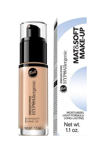BELL HYPOALLERGENIC beige Bell Hypoallergenic Mat&Soft Make-Up 04 Golden Beige 2D505BE8B36A7AGS_1