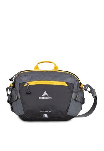Eiger grey Strider 6L 1F Lumbar Bag DF72DAC8FAADE8GS_1