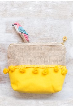 Soul Flower Solana Pouch - Yellow