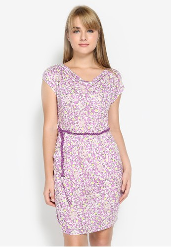 Mobile Power purple Casual Summer Floral Mini Dress C98F4AA56566E0GS_1