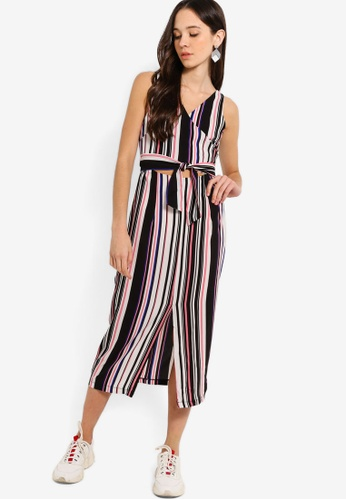 bcdc7f9ff2e1ce Shop Something Borrowed Cut Out Fitted Wrap Dress Online on ZALORA  Philippines
