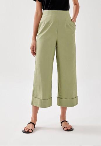 Love, Bonito green Mable Culottes 20A73AA4E7FF2DGS_1