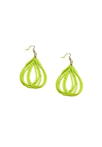 ACEXSPADE green Happy Beach Earrings – Green C90EAACB082289GS_1