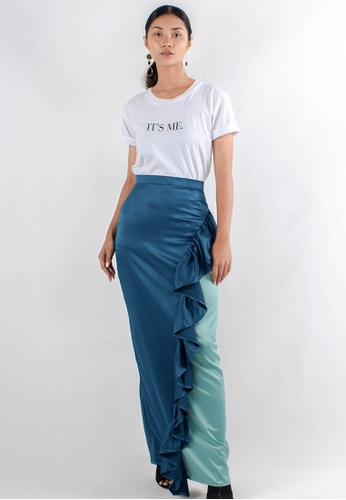 349bf0811a Buy ELDA Ria Ruffled Skirt Online on ZALORA Singapore