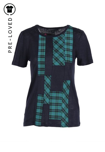 Marc By Marc Jacobs blue Pre-Loved marc by marc jacobs Blue Embellished T Shirt 71748AA45340ABGS_1