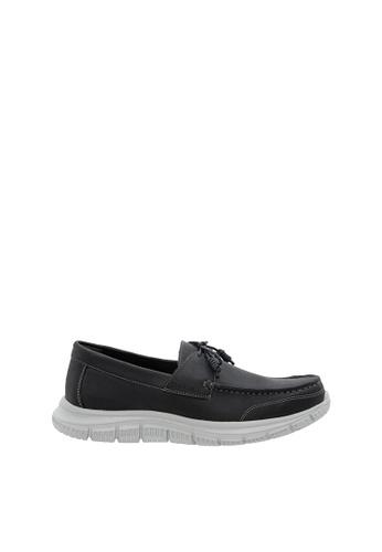 SEMBONIA black SEMBONIA Men Microfiber Loafer (Black) 9454DSHC466548GS_1