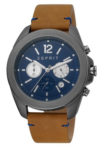 Esprit Watches brown Esprit - ES1G159L0045 - Jam Tangan Analog Pria BF863ACF03A6C8GS_1