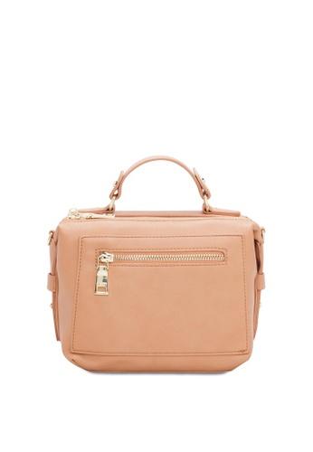 VINCCI brown Satchel Bag F673EAC575CEFEGS_1
