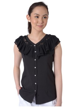 Lace Casual Blouse