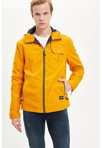 DeFacto yellow Man Outer Wear Mont 0B66DAA45CBAB3GS_1