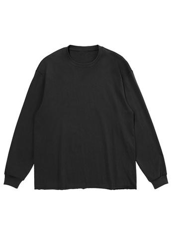Twenty Eight Shoes Long Sleeve T-shirt With Raw Hem 1901W20 BE65DAAB73A37DGS_1