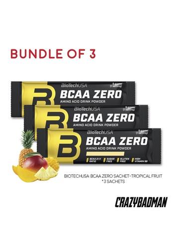 BioTechUSA [Bundle of 3] BCAA Zero 9g - Tropical Fruit DC466ES97FEDC6GS_1