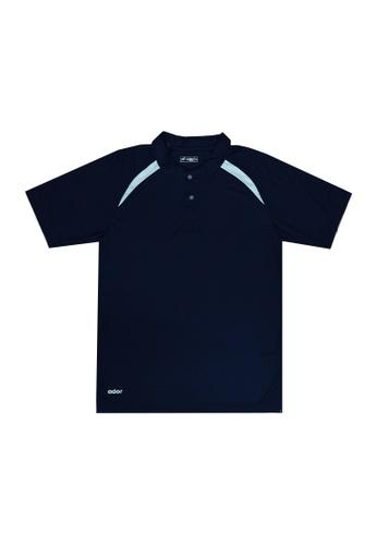 Ador blue and navy 8141 - Ador Polo Shirt 71449AACA1B859GS_1