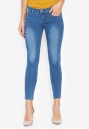 CHILI PEPPER blue Low Rise Skinny Jeans C2C9EAA23C83D2GS_1
