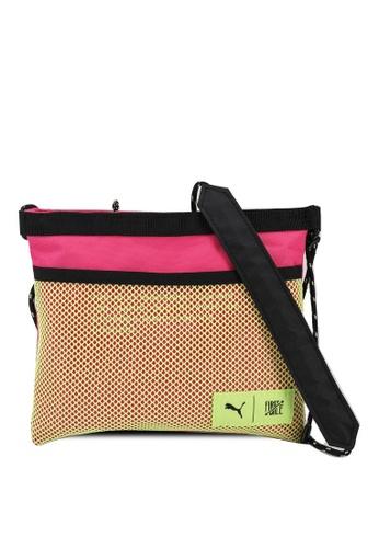 PUMA pink Puma X First Mile Sacoche Bag 449BFACB34D6BFGS_1