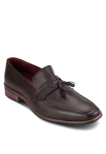 方esprit鞋子頭皮革樂福鞋, 鞋, 鞋