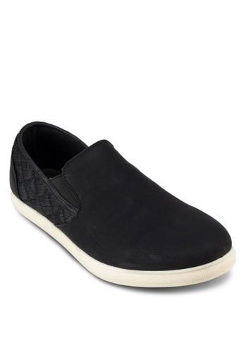 FREDERIC 異材質拼接懶人鞋, esprit台灣網頁鞋, 鞋