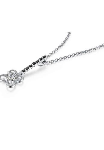 A-Excellence white Premium Elegant White Sliver Necklace F5FD1ACC70F335GS_1