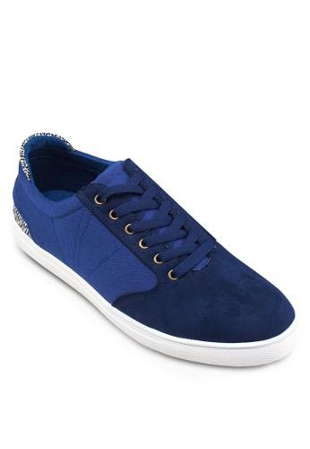 Mixed Material Sneakers, 鞋, zalora時尚購物網評價休閒鞋