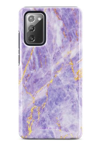 Polar Polar purple Princess Purple Dual-Layer Tough Case Glossy For Samsung Galaxy Note20 5G 0D186AC033A91CGS_1