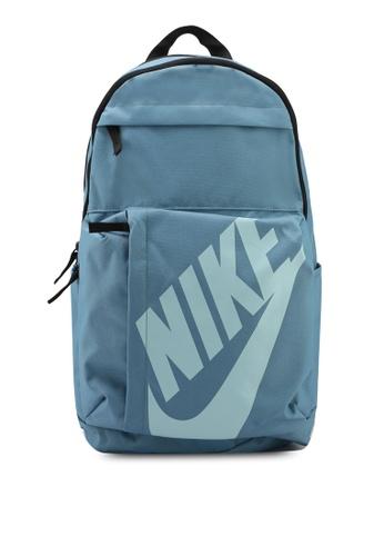 Nike green and blue Unisex Nike Sportswear Elemental Backpack NI126AC0STQJMY_1