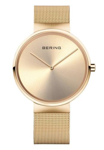 Bering gold Classic 14539-333 Gold 39 mm Men's Watch 237F2AC456300FGS_1
