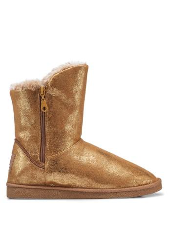 Carlton London 金色 經典必備雪靴 5F82ASH2E39915GS_1