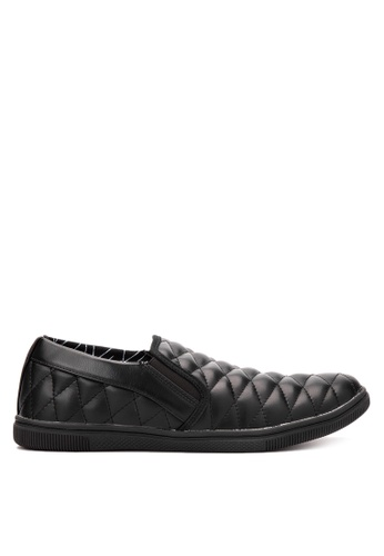 Wade black Slip on Sneakers WA436SH54LONPH_1