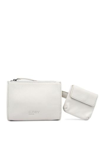 SUPERDRY white Utility Belt Bag FA717AC2DDFE81GS_1