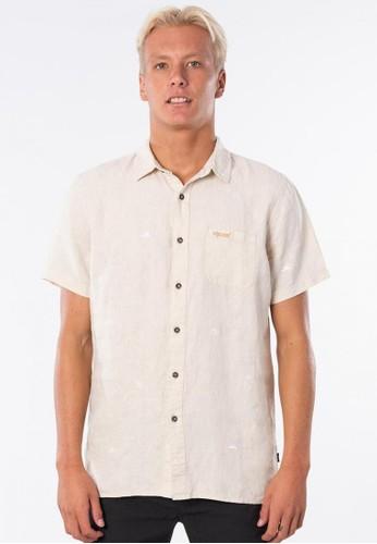 Rip Curl n/a Motif Linen Short Sleeve Shirt 5EE73AA2775F4FGS_1