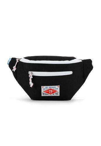 Peeps black Vivid Waist Bag 0D8DAACD665F02GS_1
