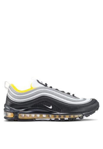 Nike black Men's Nike Air Max 97 Shoes BAADESH77B0FDAGS_1