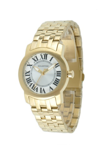 EGLANTINE gold EGLANTINE® Emily Ladies Gold Plated Steel Quartz Watch on Gold Plated Bracelet DB412AC50B6A10GS_1