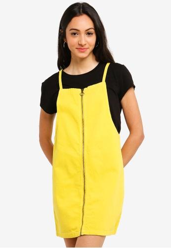 e141a9528c5 Shop Cotton On Faith Denim Pinafore Mini Dress Online on ZALORA Philippines