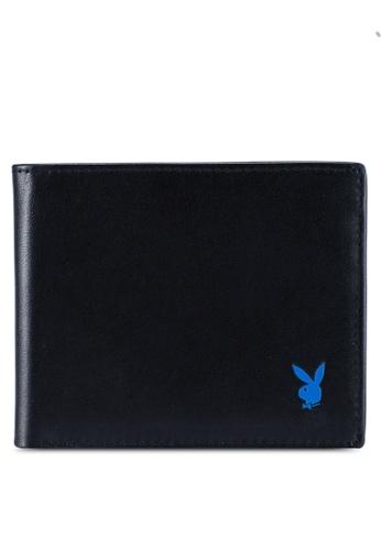 Playboy black Bi-Fold Wallet 5EABBACDBC91CAGS_1