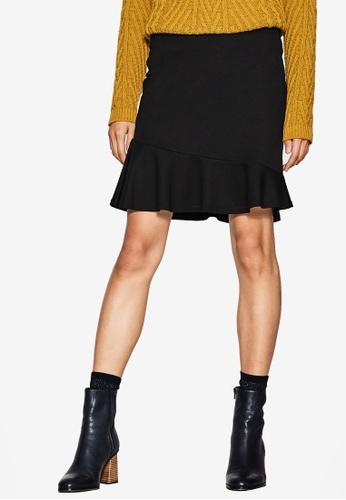 ESPRIT black Knitted Mini Skirt E41F8AAF178942GS_1
