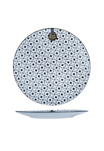 Table Matters multi Crisscross Blue - 10.5 inch Dinner Plate E34B1HLBF8736EGS_1