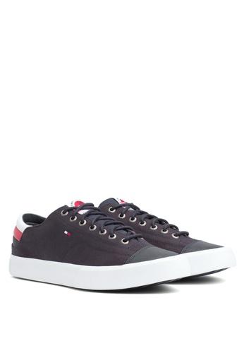 78c16e9bcf5a2 Shop Tommy Hilfiger Hilfiger Long Lace Sneakers Online on ZALORA Philippines