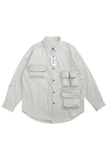 Twenty Eight Shoes Overshirt With Pockets 2100W20 7175DAA57662F0GS_1