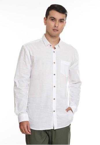 Manzone white KIKO-WHITE Shirt 94D59AAE91561AGS_1