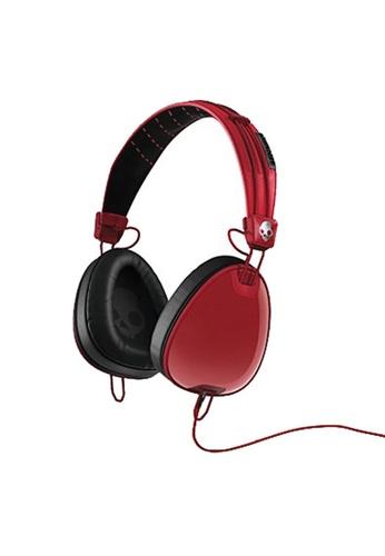 SkullCandy red Aviator Over Ear Wmic 4D9B8ACCE7A947GS_1