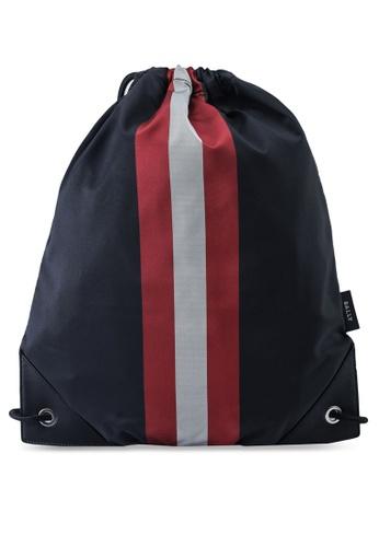 Bally black Tiso Backpack (oc) B1FF6AC1323E9CGS_1